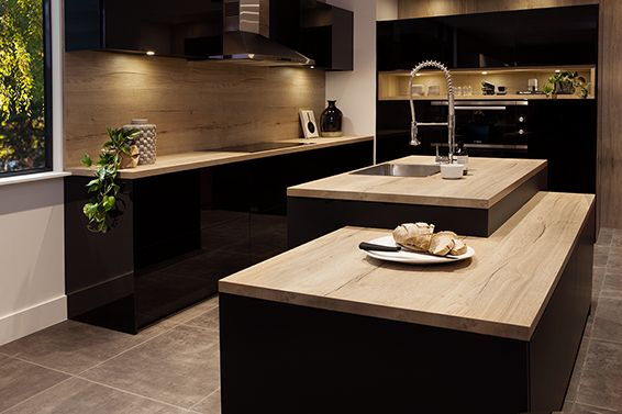 Wenge Wood Kitchen Cabinets Designer Jobs Nikpol Egger Feelwood Natural Halifax Oak H1180 St37 ...
