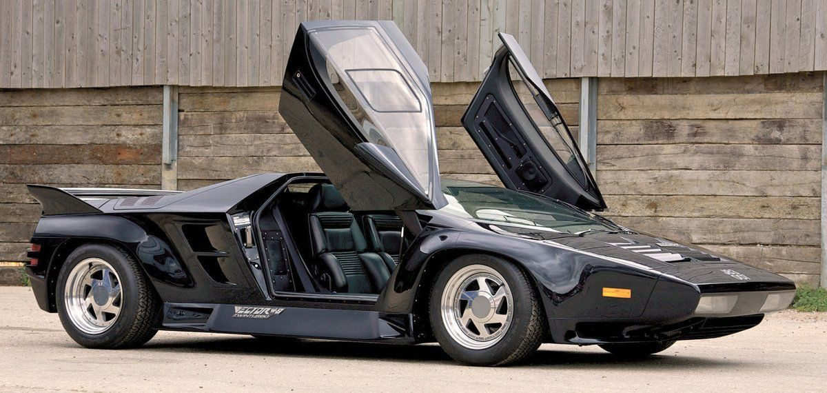 Vector W8 Twin Turbo 1990 An American Supercar By Gerald Wiegert And David Kostka Just 19 Cars Were Built Production End Super Cars Twin Turbo Car Pictures