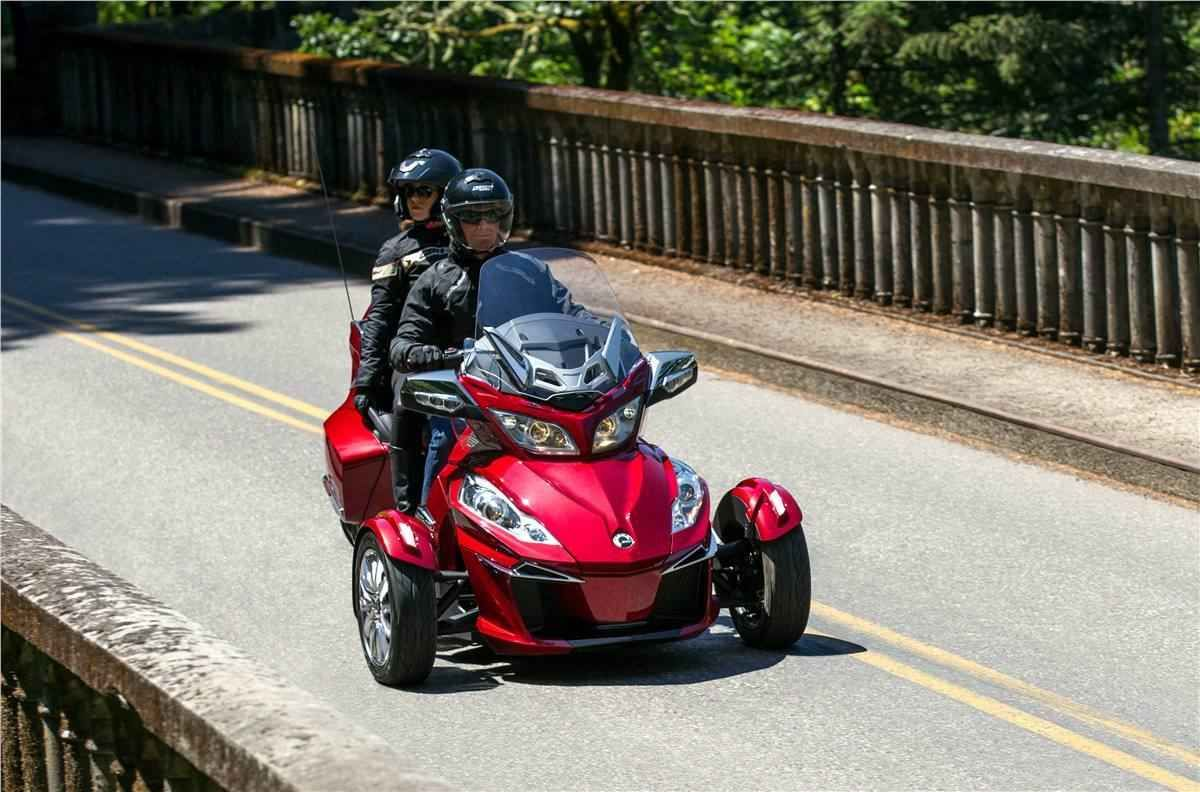 New 2016 can am spyder rt limited se6 atvs for sale in virginia 2016