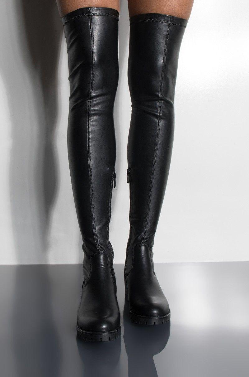 Serendipity Knee High Flat Boot