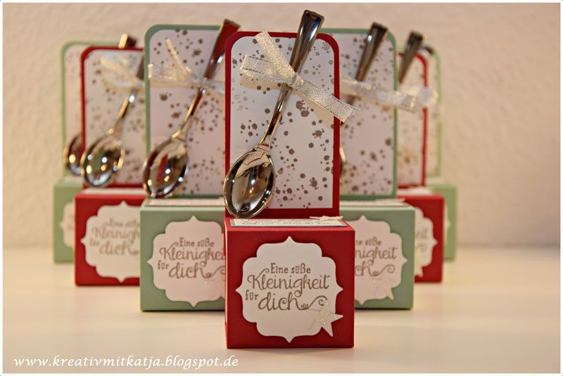 Mini nutella stampin 39 up team stempelwiese pinterest - Nutella weihnachten ...