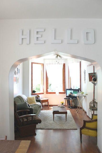 Decora tu dormitorio decoraci n de habitaci n con letras - Decora tu dormitorio ...