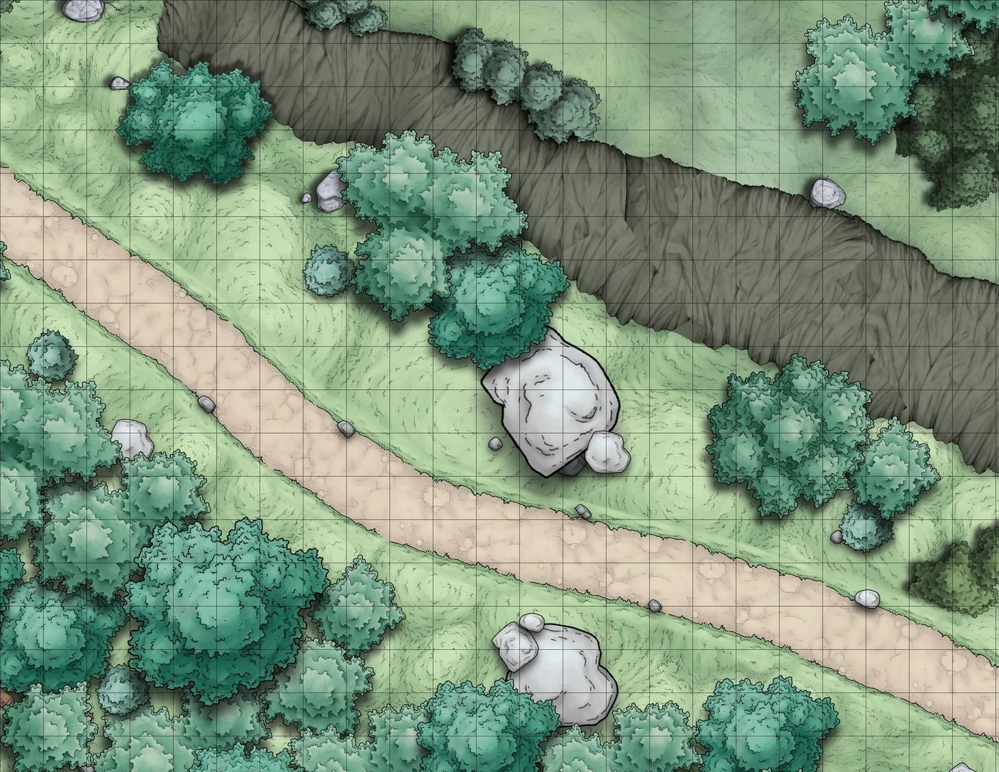 Of Bandits and Brigands - A D&D adventure battlemaps gallery