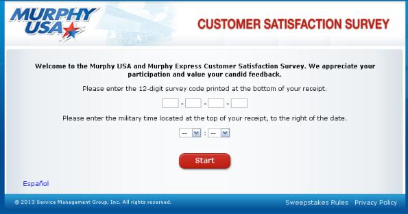 Murphy Customer Satisfaction Survey WwwTellmurphyusaCom