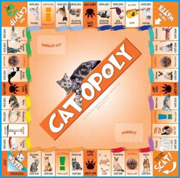 CatOpoly Monopoly Game Crazy cat people, Crazy cats
