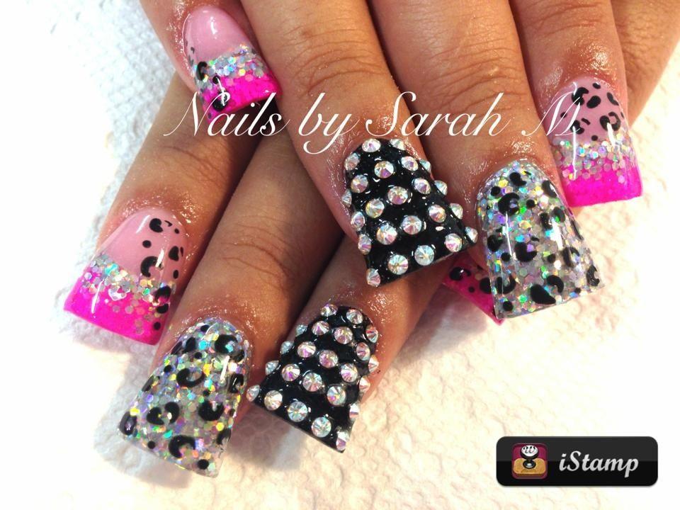 Acrylic nails   Nails By Sarah   Pinterest   Acrylics, Nail nail and ...