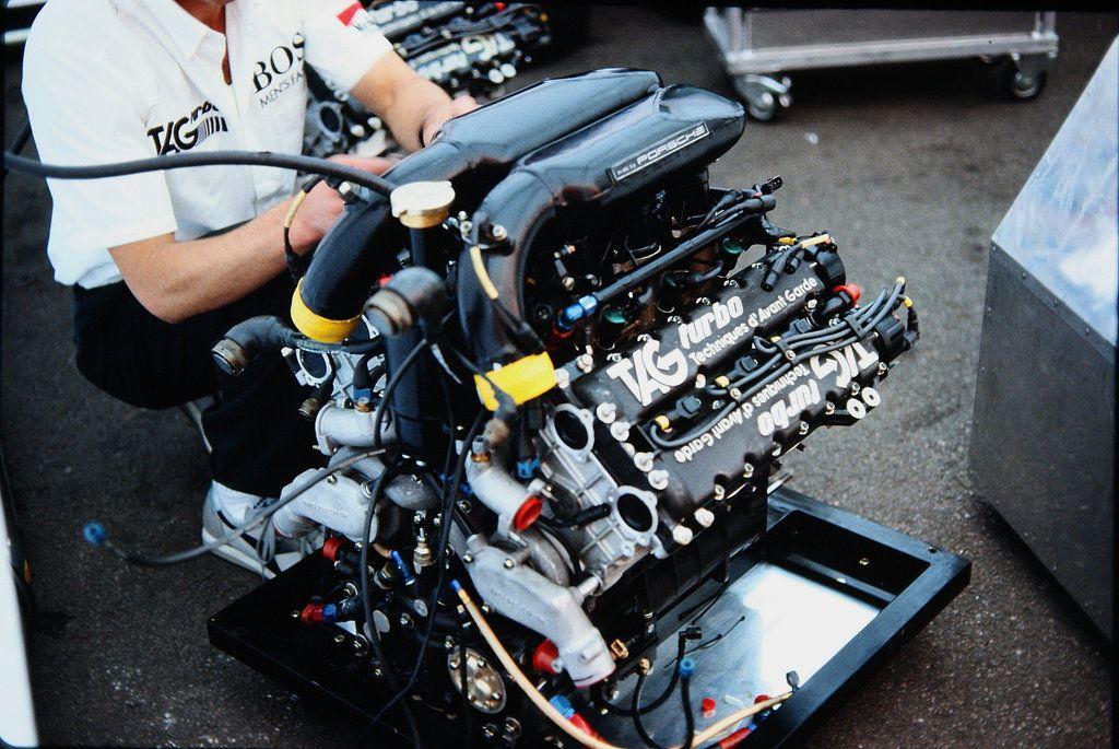 (McLaren MP4/2B's) TAG-Porsche TTE PO1, 1,499 cc (91.5 cu ...
