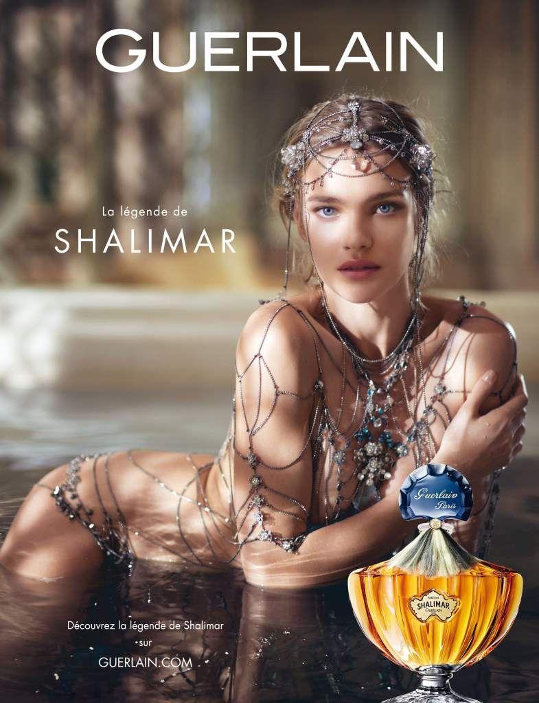 Natalia Vodianova Publicité La Légende De Shalimar De Guerlain