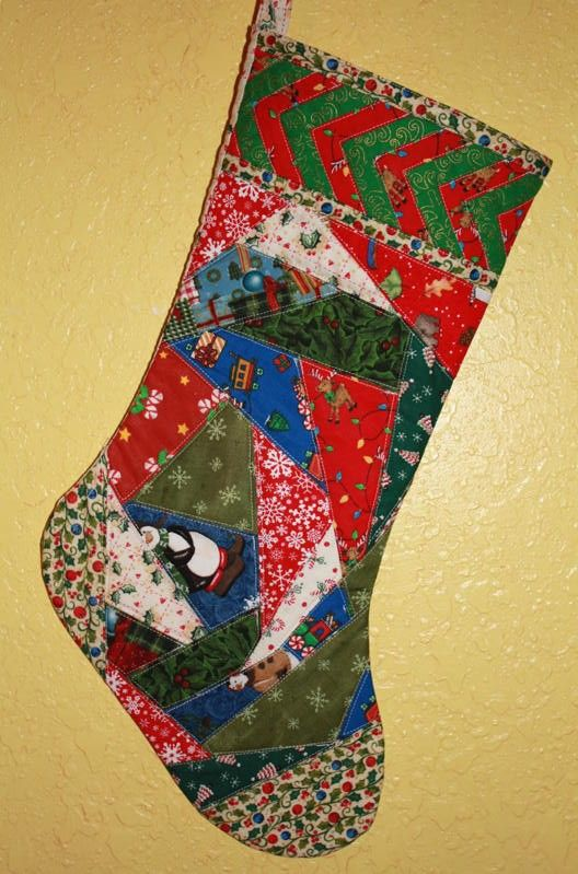 Quilted Christmas Stocking Quilted Christmas Stockings