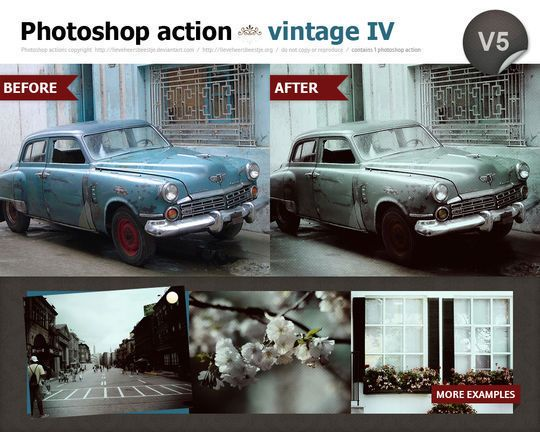 40 Time Saving Free Photoshop Actions For Vintage Effect Smashingapps Com Photoshop Actions Free Photoshop Actions Photoshop