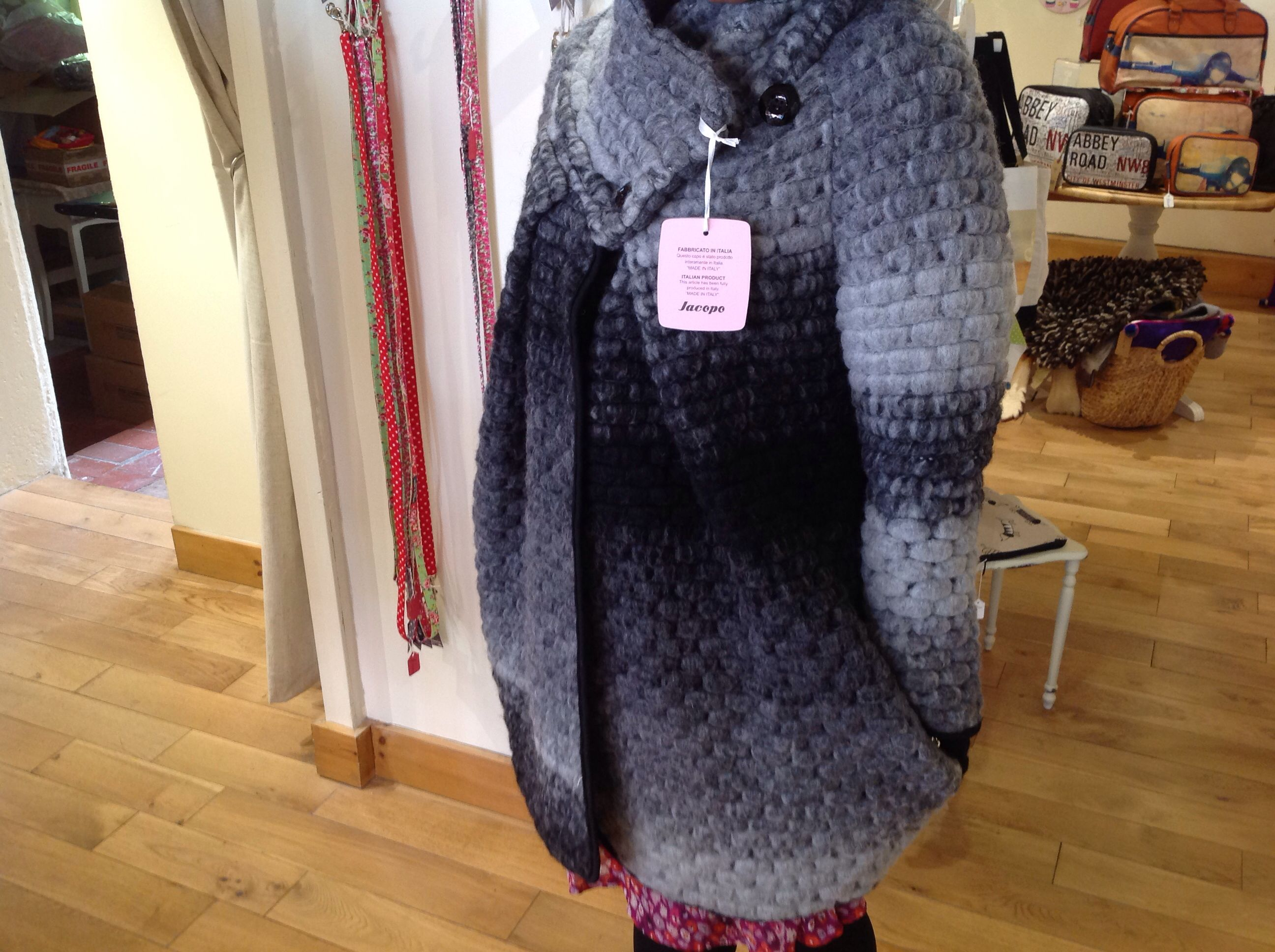 Just a sneak preview of one of our beautiful coats on same on Tuesday.