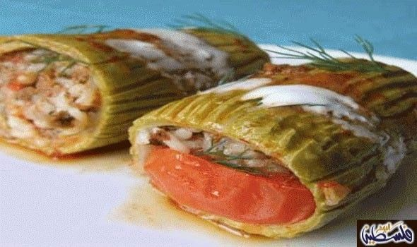طريقة عمل أصابع محشي الكوسة المقادير 2 1 كيلو كوسة متوسطة الحجم 3 وحدات فلفل رومي 2 بصل متوسطة مفروم 1 ك طما Recipes How To Cook Zucchini Veal Recipes