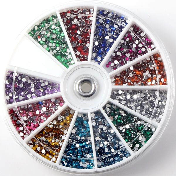 Nail Art Ramadan: Nail Art 3600pcs 1.5mm Rhinestones Glitter Decoration 3D