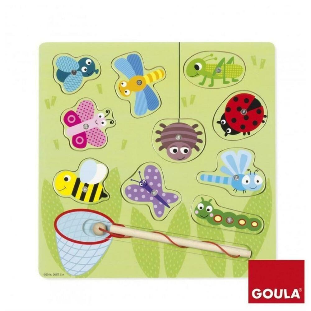 Goula Magnetisches Insektenspiel 11-teilig Spiel Deutsch 2017 Puzzles Geduldspiel