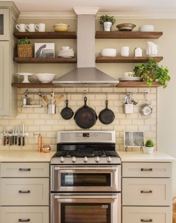 7 Surprising Ways To Fall In Love With Your Small Kitchen Http://www