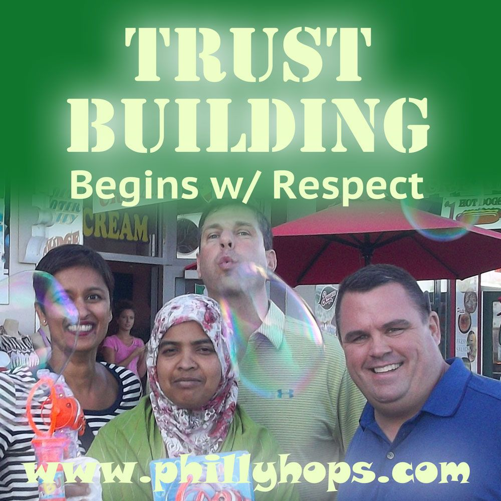 Trust Building Begins With Respect A Team Building Meme Team Building Teams Memes
