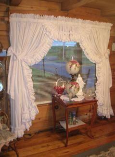 Beautiful Vickieu0027s Ruffled Curtains