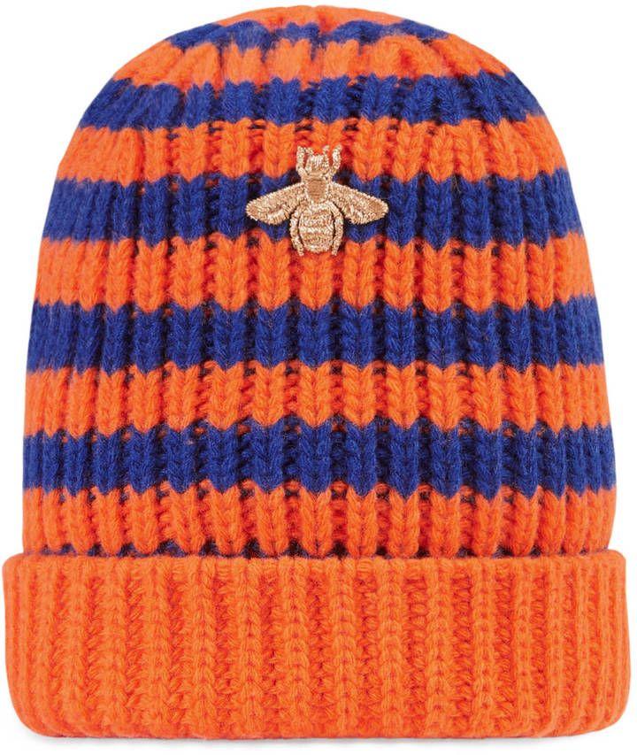 Gucci Striped wool hat Men s Hats 5303d341da67