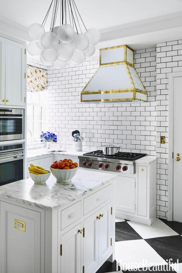 ▷ 1001+ ideas para organizar las cocinas pequeñas | Campana ...
