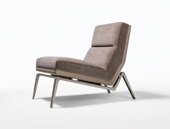 HOLLY HUNT - FLEA LOUNGE CHAIR