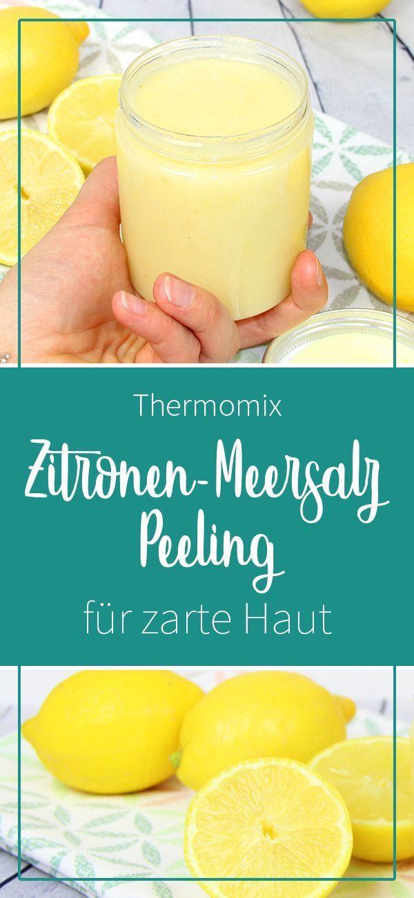 Zitronen-Body-Peeling mit Meersalz - dieHexenküche.de   Thermomix Rezepte