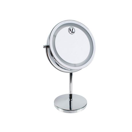 Best Truu Design Led Mirror With Stand Silver 1 Led Mirror 400 x 300