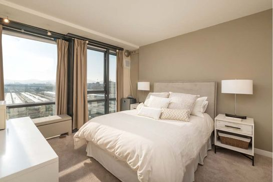 10 Gorgeous S.F. Apartments For Under $1 Million #refinery29  http://www.refinery29.com/budget-san-francisco-apartments-for-sale-under-one-million#slide-14  Just a stone's throw from both the Caltrain and the freeway entrance, this one-bedroom, one-and-a-half-bath penthouse is a commuter's dream. And, it's got all the fixings, from floor-to-ceiling windows boasting impressive views of Twin Peaks and the city, to upscale building amenities including a doorman, concierge, gym, heated outdoor…