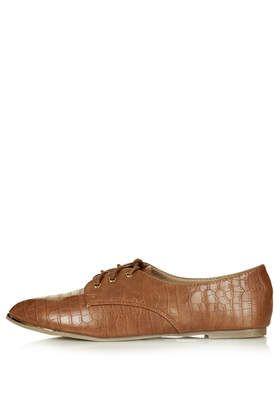 Frieda Lace Up Shoes - Topshop - £26