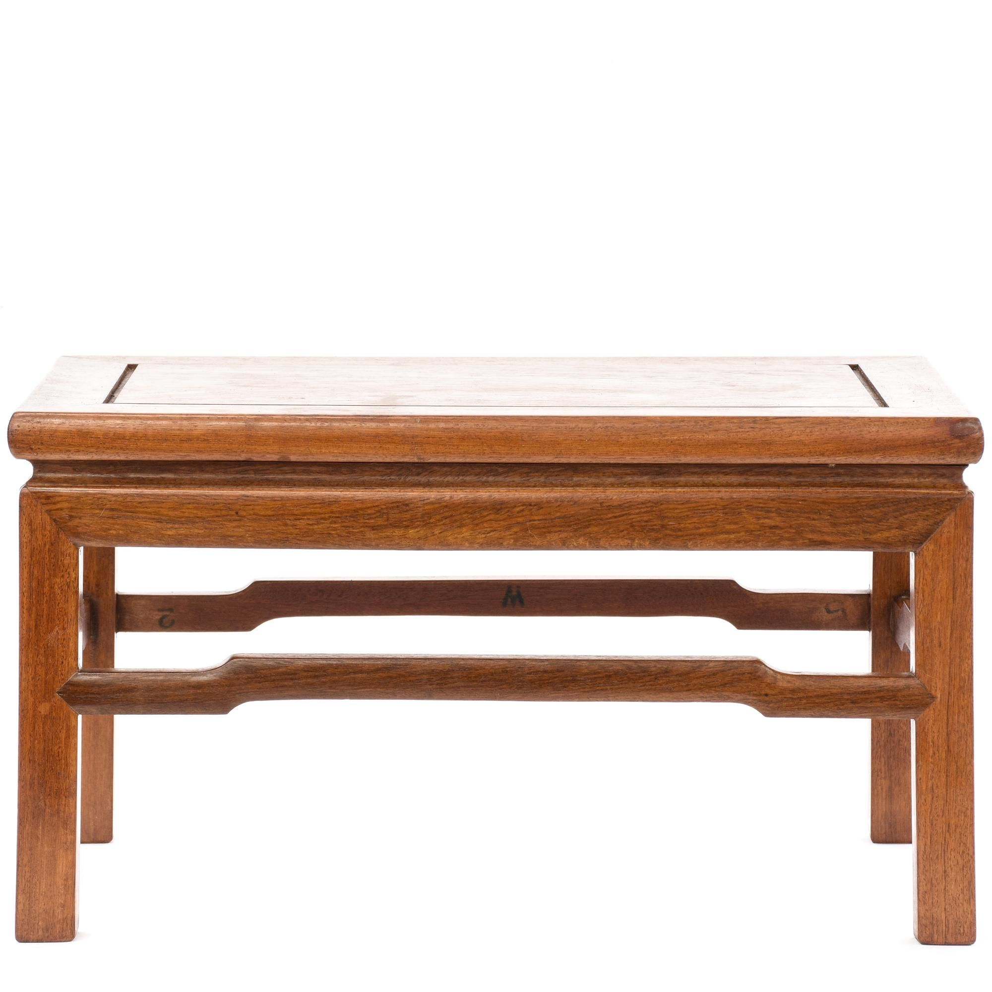 Rectangular Asian Rosewood End Table Furniture san diego Tables