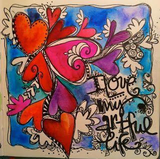 Whimspirations: …making journal art…..