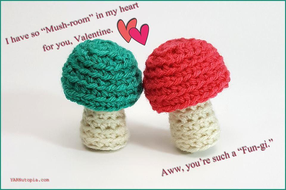 Crochet Tutorial: Mushroom Amigurumi | Miniaturas, Muñecas y Tejido