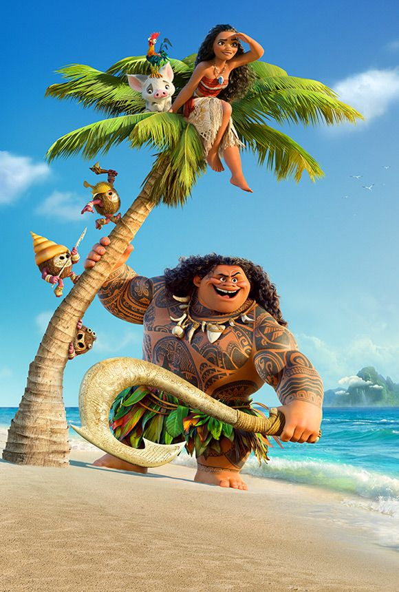 Walt Disney Pictures Oceania Original Moana