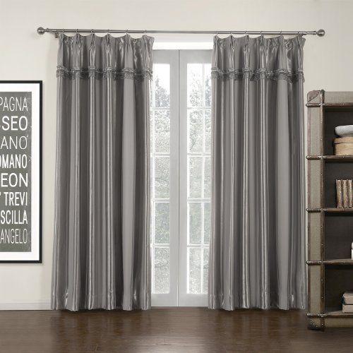 "Double Pleated Grey Stripe Mordern Room Darkening Curtain, Suits Window 47""-62"" Wide, 84"" Drop Curtain Power,http://www.amazon.com/dp/B00IR3FBN8/ref=cm_sw_r_pi_dp_QdRztb05DMN3FM8W"