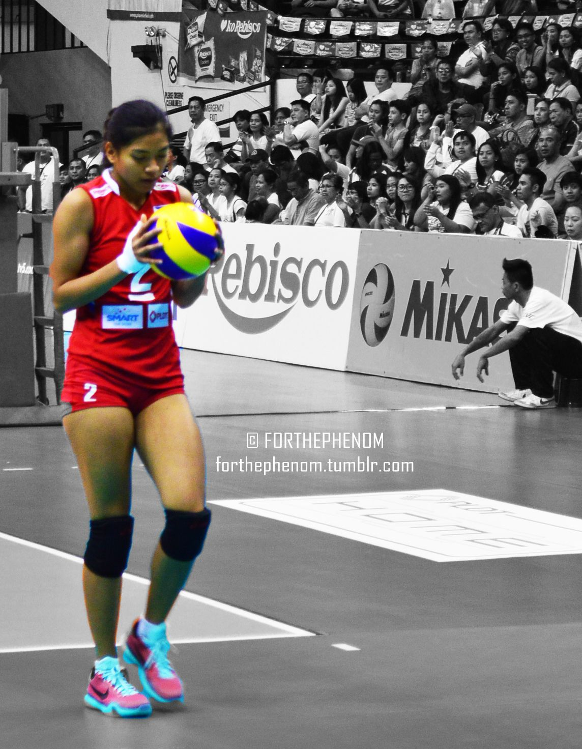 One In A Million Female Volleyball Players One In A Million Alyssa Valdez