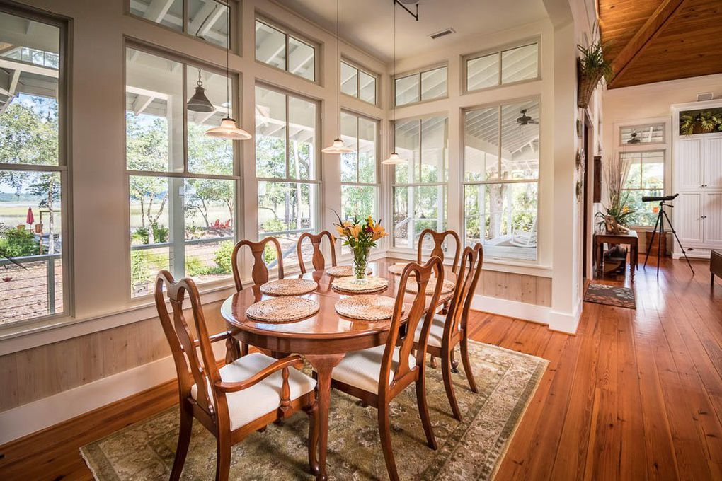 New tideland haven dining room house plans pinterest for Southern living homes for sale