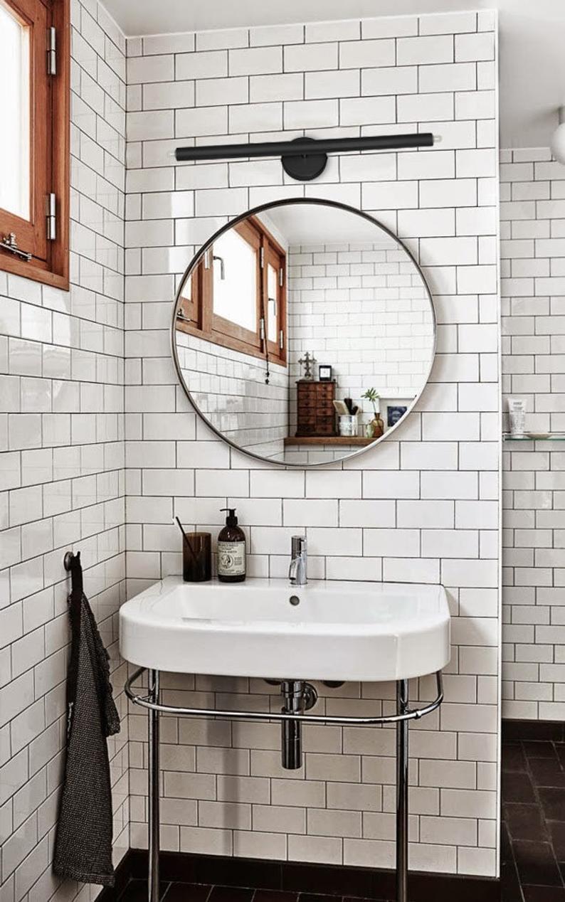 Photo of White Wall Sconce Vanity 2 Lights – Bathroom lighting modern – Ponz Home Design – Lighting