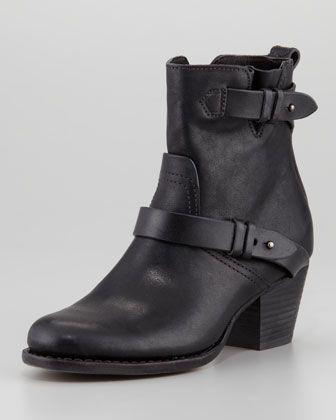237b865654ea65 Harper Leather Motorcycle Boot by Rag  amp  Bone at Neiman Marcus. Sexy  Boots