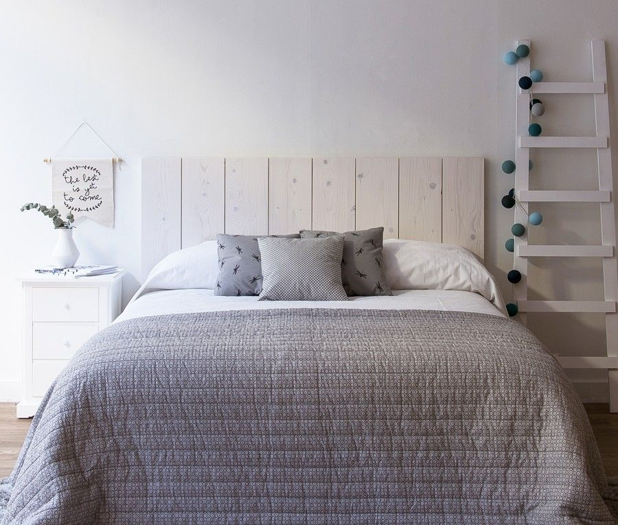 Nordik Cabecero Blanco En 2019 Dormitori Mireia