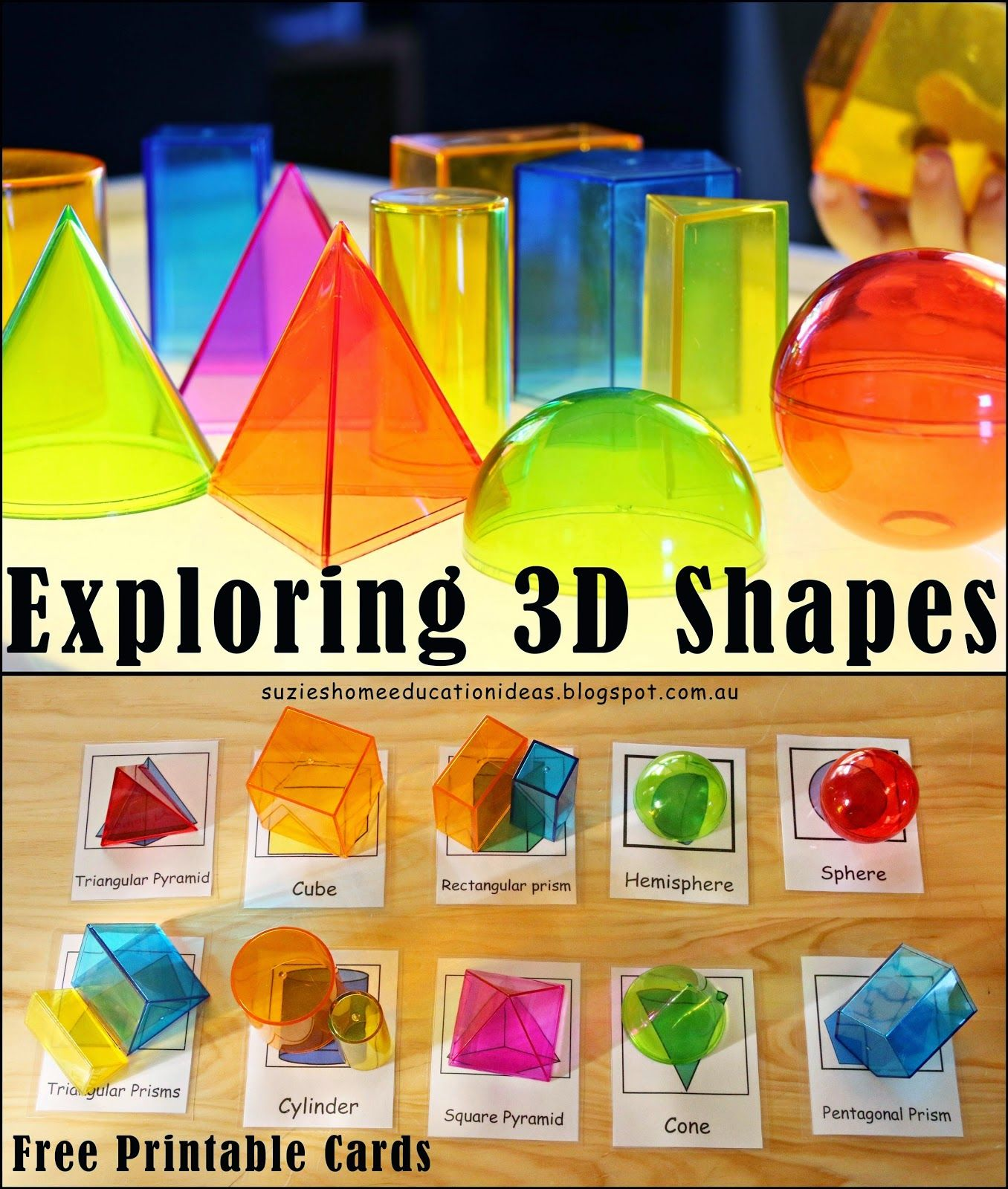 Every Star Is Different 3 Dimensional Shapes Activities Amp Printables Klp Linky Party
