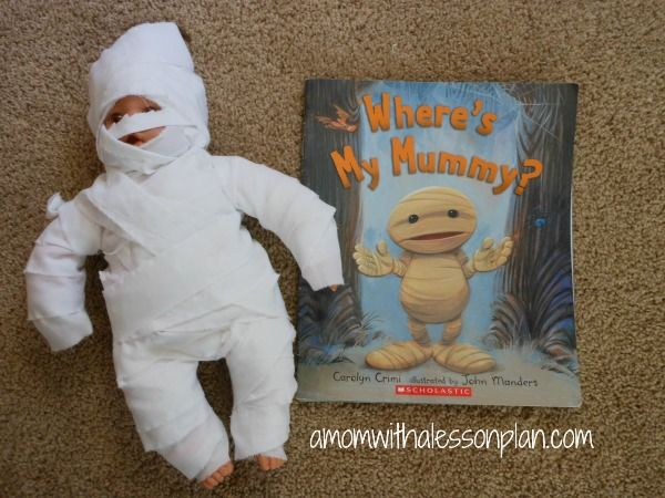 Halloween Book Activity – Mummy Babies from A Mom with a Lesson Plan