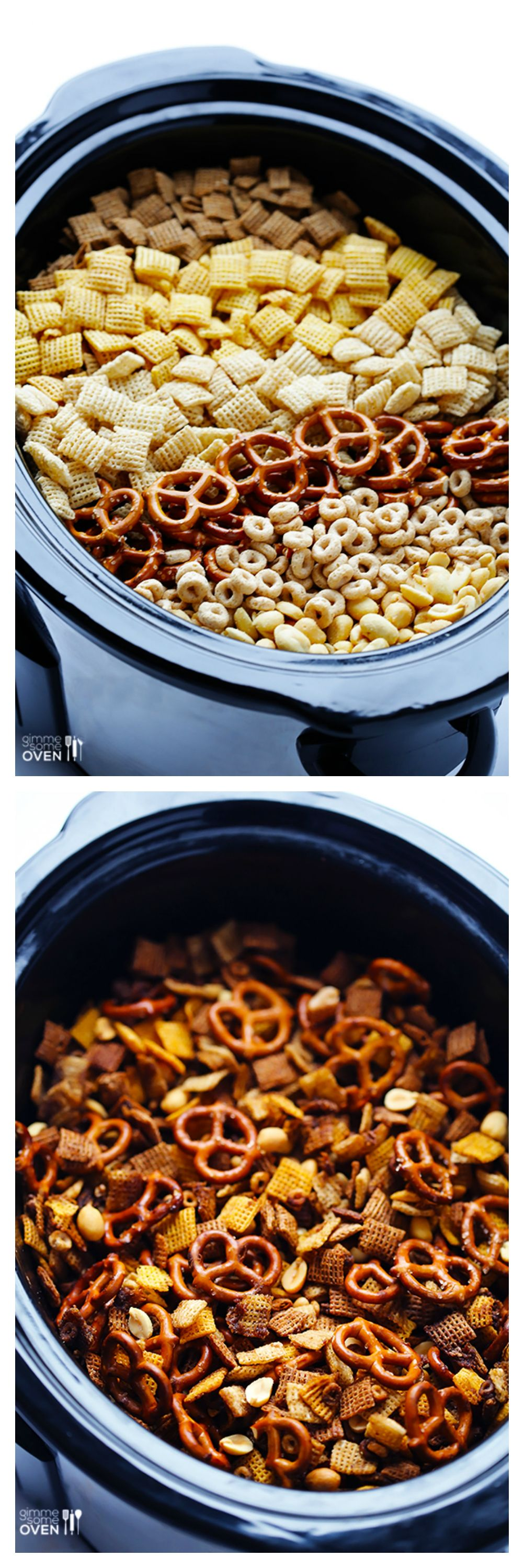 Slow Cooker Chex Mix -- the classic mix you love, made in your crock ...