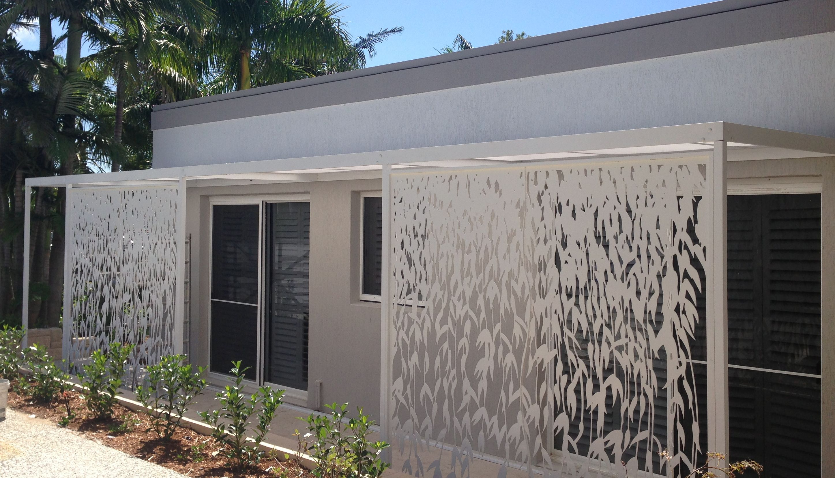 Screen Art Privacy Screen   Residential Exterior. Http://www.screenart.