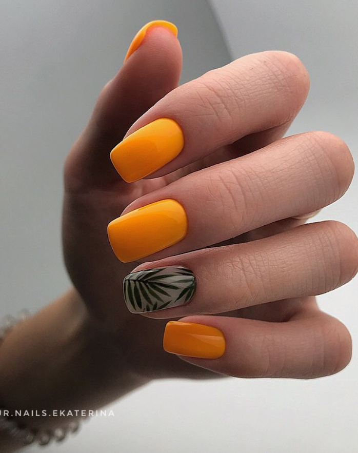 110 Best Natural Short Nails Design Ideas For Fall , Page 26