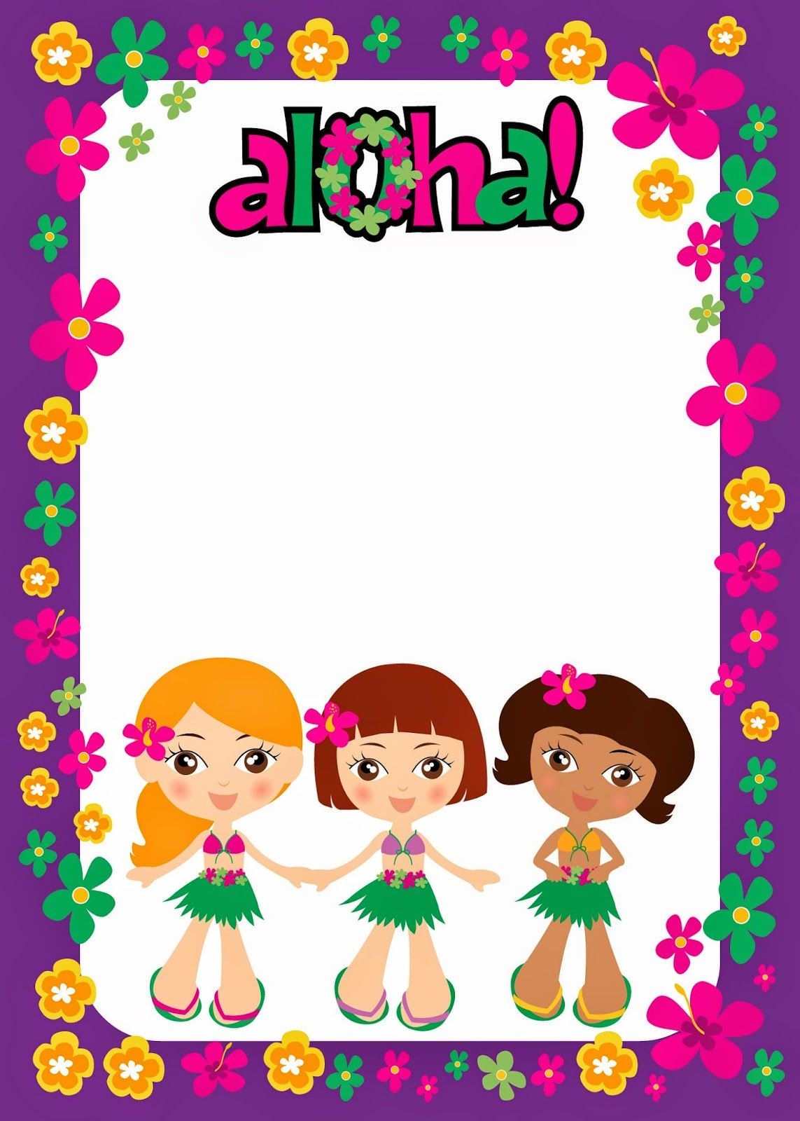 Free Printable Kids Luau Party Kit 001 Jpg 1143 1600 Kids Luau Parties Kids Luau Party Kit