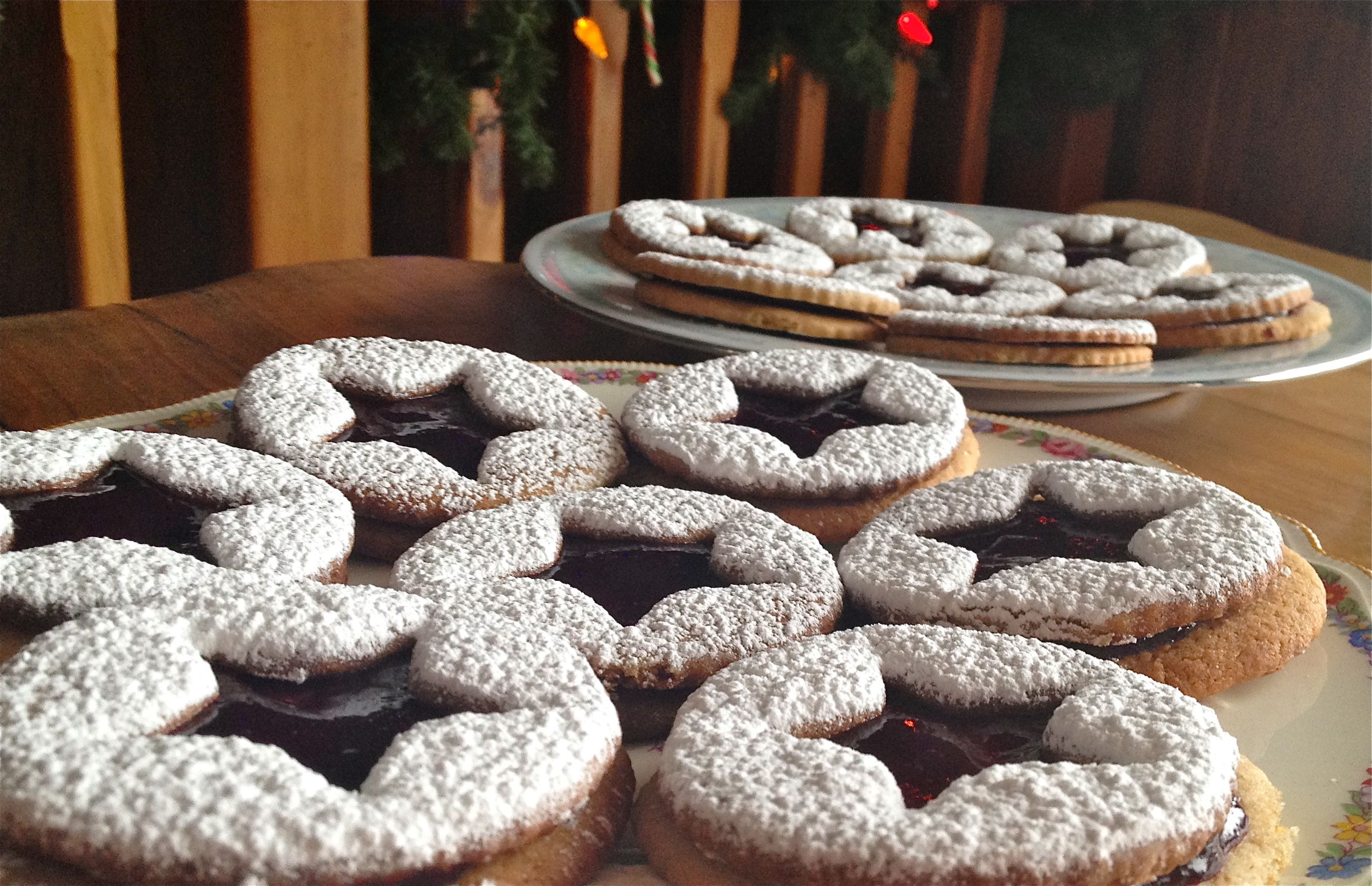 Sparkling Linzer Stars   Recipe   Stars, Cookies and Recipe