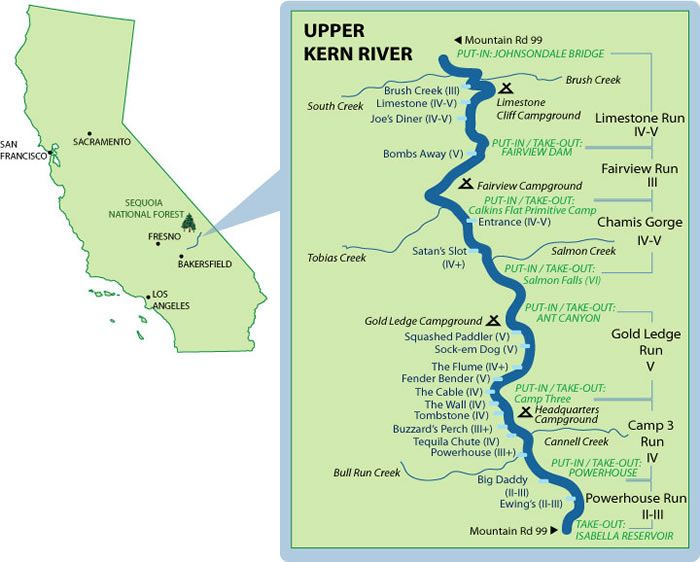 Camping riverrafting tubing only 3 hours outside of LA Upper