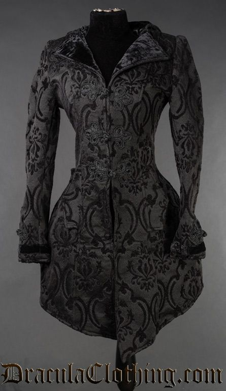 4ef7b8827d Brocade Ives Coat Lace Corset