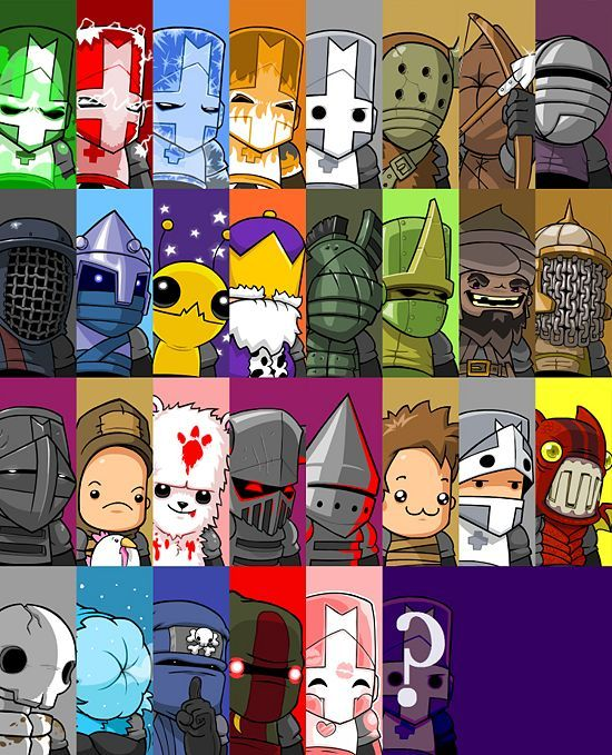 Castle Crashers Castle Crashers Character Design Game Pictures