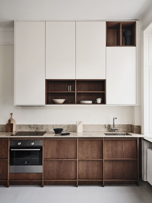 Kitchen Of The Week The Nordiska Oak Kitchens Bungalow5 Oak Kitchen Modern Kitchen Design Home Decor Kitchen