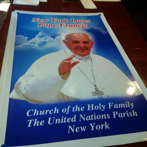 Clergy in Washington, New York and Philadelphia are ready for their shepherd's arrival.